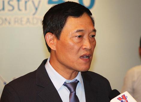 Thứ trưởng Bộ Khoa học và Công nghệ Trần Văn Tùng. Ảnh: Mạnh Tùng.