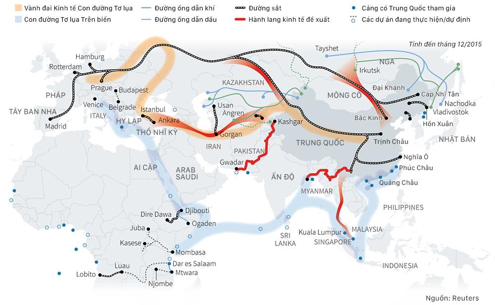 Tham vọng hồi sinh Con đường Tơ lụa của Trung Quốc