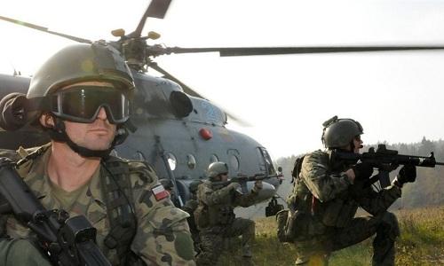 NATO tập trận quy mô cách biên giới Nga 50 km