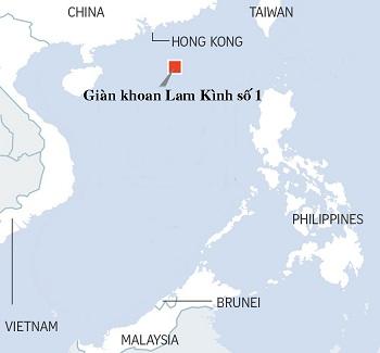 Trung Quốc tuyên bố khai thác thành công băng cháy ở Biển Đông