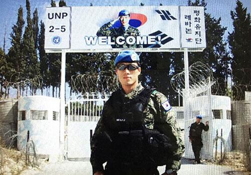Vệ sĩ điển trai tự nguyện bảo vệ Tổng thống Hàn Quốc - ảnh 2