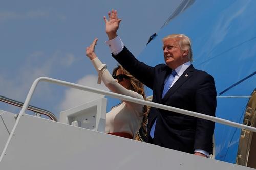 10.000 người bảo vệ chuyến thăm của ông Trump tại Israel