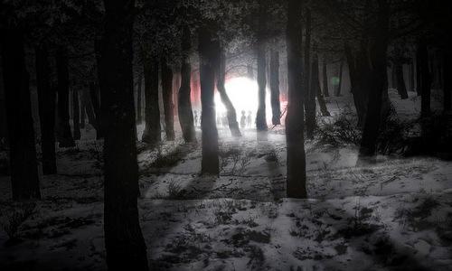 Vụ Rendlesham là bí ẩn UFO lớn nhất tại Anh. Ảnh minh họa: Blogspot.