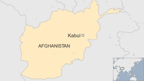 Vị trí thủ đô Kabul, Afghanistan. Đồ họa: BBC.