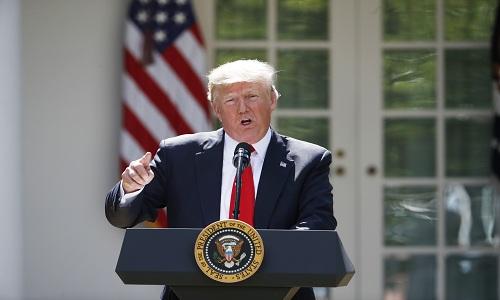 Hệ quả môi trường khi Mỹ rút khỏi hiệp định về biến đổi khí hậu
