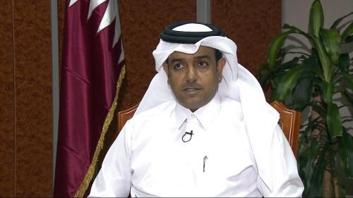 Mutlaq Al Qahtani, đặc phái viên về chống khủng bố của Ngoại trưởng Qatar. Ảnh: Aljazeera