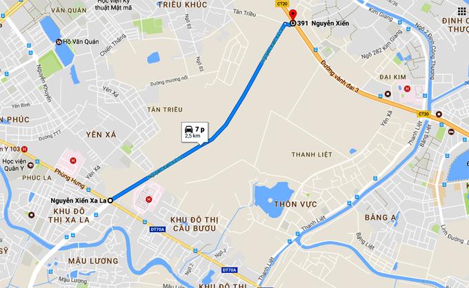Tuyến đường 1.500 tỷ kết nối 3 quận Hà Nội sắp khánh thành Đường Nguyễn Xiển - Xa La con đường nghìn tỷ kết nối 3 quận của Hà Nội