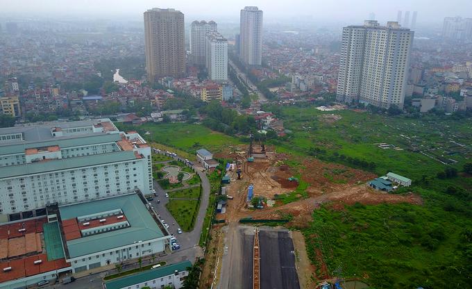 Tuyến đường 1.500 tỷ kết nối 3 quận Hà Nội Nguyễn Xiển - Xa La Đường Nguyễn Xiển - Xa La con đường nghìn tỷ kết nối 3 quận của Hà Nội