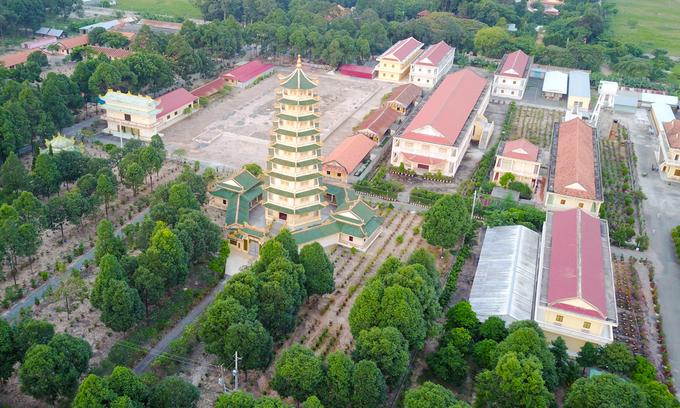 Ngôi chùa rộng lớn có nhiều tượng phật nhất Việt Nam