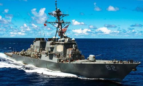 Quy trình vận hành của chiến hạm Mỹ trên biển