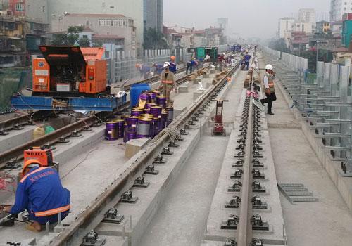 Tổng thầu đường sắt Cát Linh - Hà Đông được xếp hạng trung bình