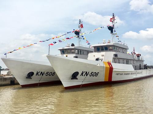Kiểm ngư Việt Nam có 2 tàu mới