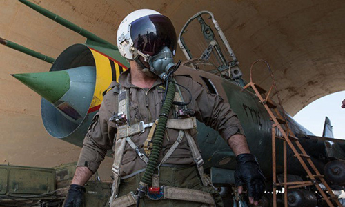 Quân đội Syria giải cứu phi công Su-22 bị Mỹ bắn rơi