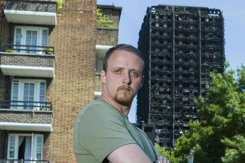 Kỹ sư Nga cứu sống 11 người trong chung cư cháy ở London