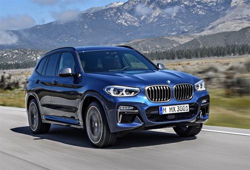 Chiếc crossver hạng sang BMW X3 2018 thay đổi thiết kế, thêm công nghệ mới