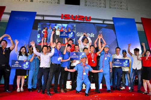 Các thí sinh xuất sắc đạt giải sẽ đại diện cho Isuzu Việt Nam tranh tài tại I1 GP toàn cầu 2017.