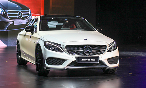 Mercedes-AMG C 43 4Matic Coupe tại Fascination 2017.