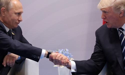 Trump và Putin đạt thỏa thuận ngừng bắn tại Syria