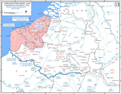 Quyết định khiến Hitler lỡ cơ hội xóa sổ quân đội Anh
