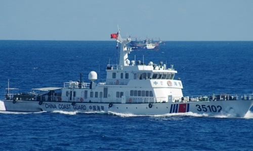 Tàu hải cảnh Trung Quốc bị tố đi vào vùng biển Nhật Bản