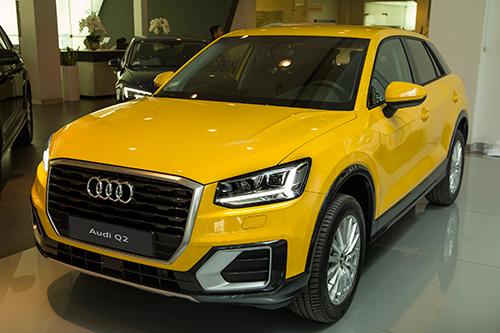 Audi Q2 bản 1.4 TFSI Design giá từ 1,5 tỷ đồng.