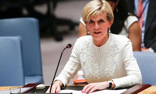 Ngoại trưởng Australia sốc khi Trump khen hình thể vợ Macron