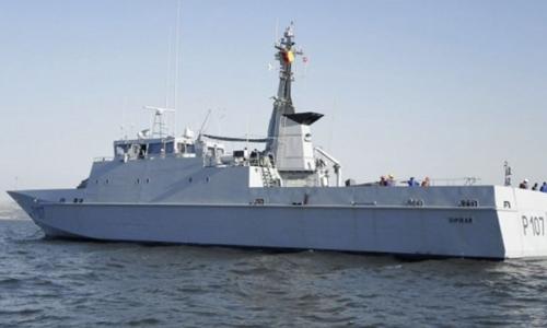 Tàu quân sự Cameroon chìm, hàng chục lính tinh nhuệ mất tích