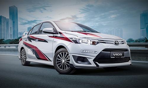 Vios Sports Edition bản thể thao đặc biệt dành riêng cho thị trường Malaysia.