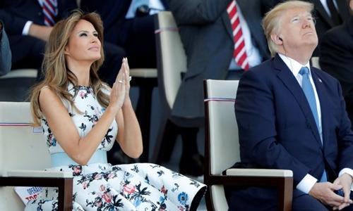 Melania - trợ thủ cứu vãn hình ảnh Trump khi công du nước ngoài