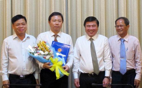 TP HCM bổ nhiệm nhiều cán bộ sở, ngành
