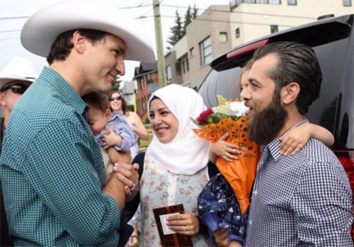 Thủ tướng Canada gặp Justin Trudeau