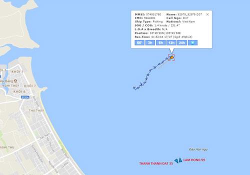 Tàu vận tải chở 13 thuyền viên bị lật, 4 người mất tích