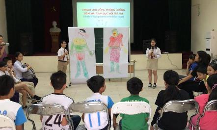 Học sinh lớp 7 lập Fanpage về phòng chống xâm hại tình dục