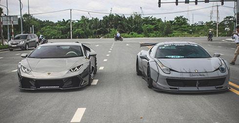 Bộ đôi siêu xe độ tại Việt Nam.