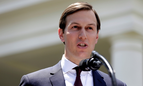 Jared Kushner phát biểu tại Cánh Tây, Nhà Trắng, ngày 24/7. Ảnh: Reuters.