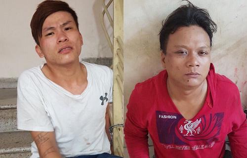 Hai tên cướp đạp xe đặc nhiệm Sài Gòn khi bị truy đuổi
