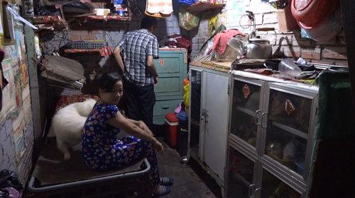 Cuộc sống bên trong khu ổ chuột ở trung tâm Sài Gòn