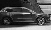 Mazda CX-8 lần đầu lộ thiết kế ngoại thất