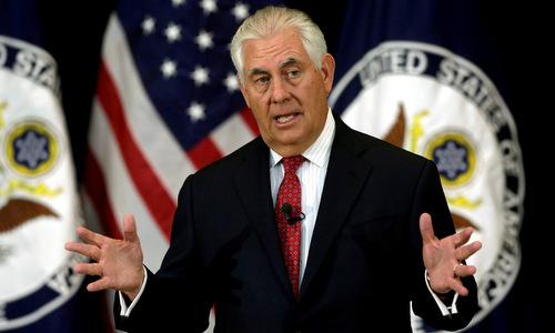 Ngoại trưởng Mỹ có thể từ chức vì bất đồng với Trump