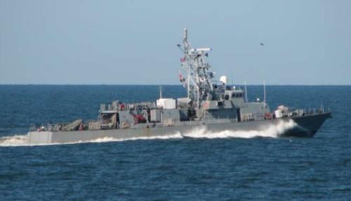 Tàu USS Thunderbolt của hải quân Mỹ. Ảnh: