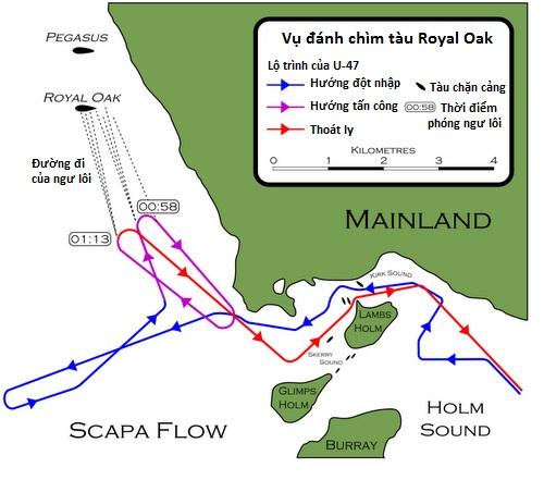 Trận tập kích táo bạo của tàu ngầm Đức vào căn cứ Anh năm 1939 - Ảnh minh hoạ 2