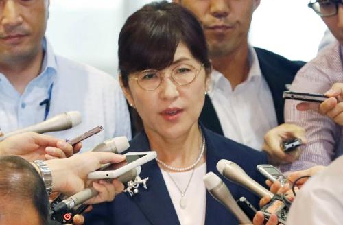 Bộ trưởng Quốc phòng Nhật xin lỗi vì sảy miệng - ảnh 1