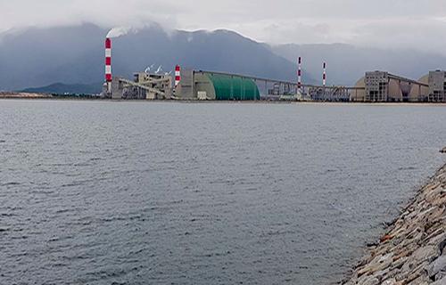 Formosa xây dựng bãi xỉ lấn biển gần 150 ha