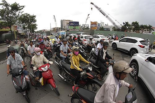 Đà Nẵng loay hoay đối phó kẹt xe