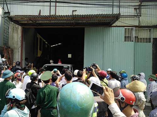 Nổ xưởng sản xuất bánh kẹo ở Hà Nội, 8 người chết - Ảnh minh hoạ 2