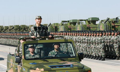 Thông điệp từ cuộc duyệt binh lớn ở Nội Mông của ông Tập