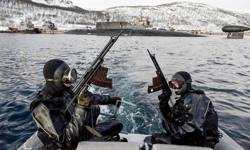Lực lượng 'cận vệ vô hình' bảo vệ tàu chiến, căn cứ hải quân Nga