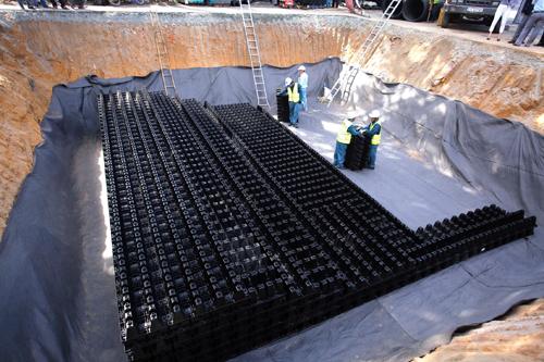 TP HCM lần đầu xây hồ điều tiết ngầm thông minh