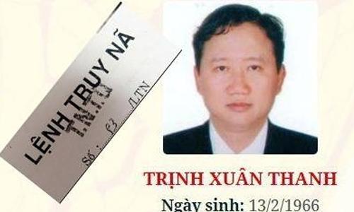 Hơn 300 ngày truy tìm bị can Trịnh Xuân Thanh