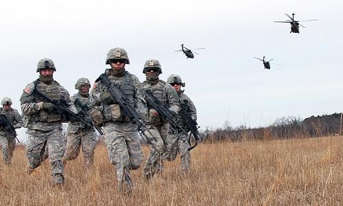 Quân đội Mỹ tăng tập trận toàn cầu đối phó Nga